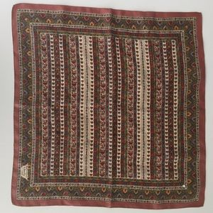 Vintage Liberty of London silk scarf (brown)
